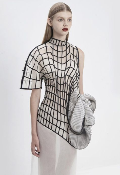 Hard Copy by Noa Raviv - fashion,couture,costume,knitwear -