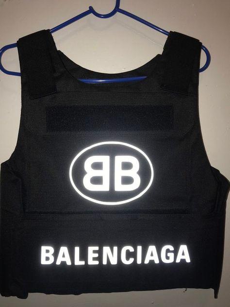 Balenciaga style bulletproof vest