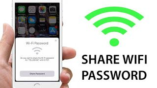 How To Share Wi Fi Passwords From Iphone Wifi Password Wifi Wireless Networking