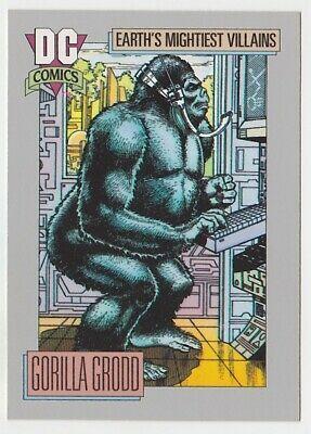 1992 Dc Comics Cosmic Card Impel 96 Gorilla Grood Comics Dc Comics Dc Comics Characters