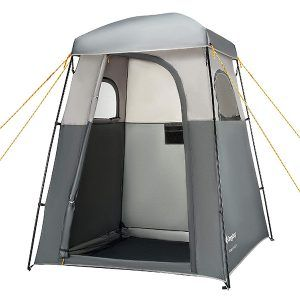 Foldable Outdoor Camping Shower Tent Waterproof Toilet Bath Room Privacy Kit