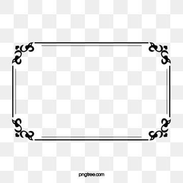 Border Design Rectangle Clipart Vector Diagram Png Transparent Clipart Image And Psd File For Free Download In 2021 Border Design Web Design Marketing Powerpoint Animation