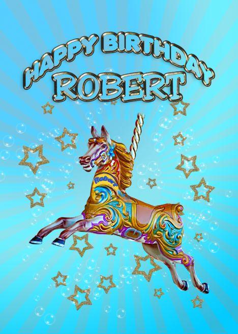 Happy Birthday Robert Card Happy Birthday Larry Happy Birthday
