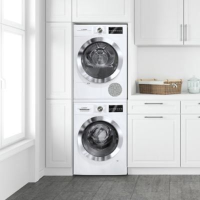 Stackable Washers Dryers At Lowes Com 1000 Washer And Dryer Washer Dryer Laundry Room Laundry Room Storage Shelves