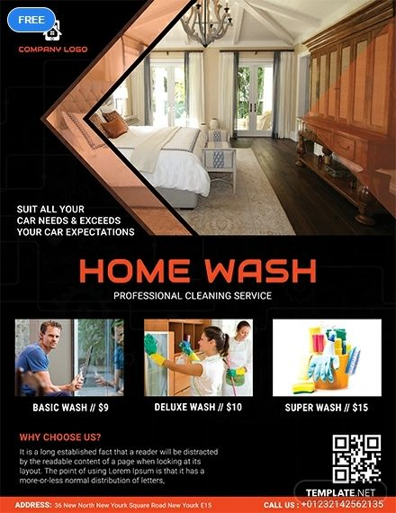 Generate more sales and clients with this Free Home Cleaning Service