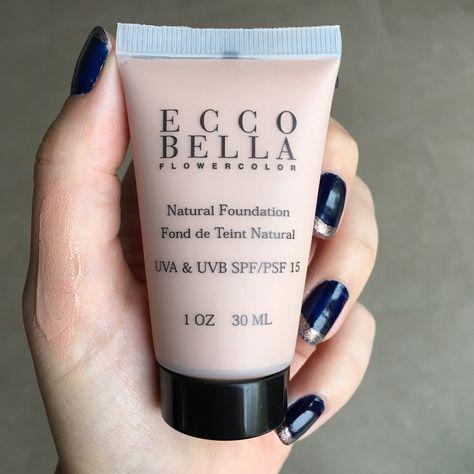 Ecco Bella FlowerColor Natural makeup #vegan #crueltyfree #nontoxic