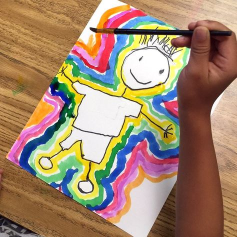 Organizing old photos and found this gem. Still one of my favorites for kinder and first grade self portraits. Kindergarten Art Lessons, Kindergarten Art Projects, Classroom Art Projects, Art Lessons Elementary, Art Classroom, Kindergarten Self Portraits, Drawing For Kids, Art For Kids, Art Rubric