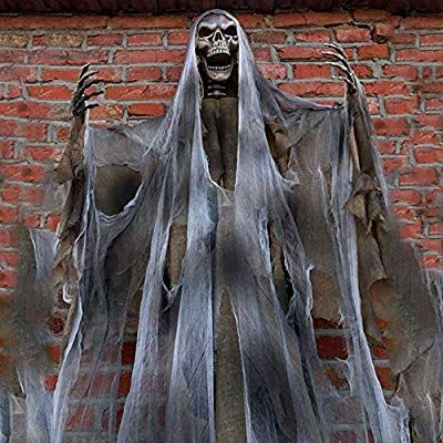 Amazon Com 70in Halloween Ghost Decorations Scary Props Life Size