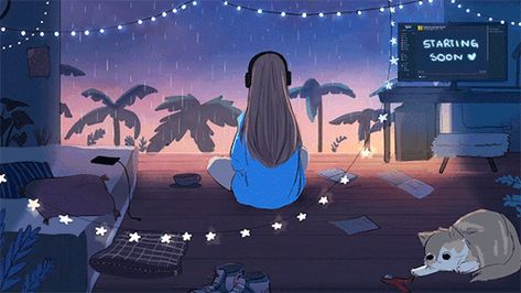 Debbie Balboa - Last commissions of the year (´∀`)♡ Aesthetic Gif, Aesthetic Backgrounds, Aesthetic Wallpapers, Animes Wallpapers, Cute Wallpapers, Arte 8 Bits, Animated Love Images, Comic Anime, Japon Illustration