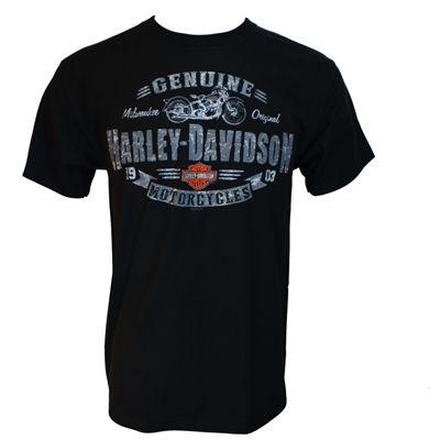Harley-Davidson Rough Genuine Men's S/S Dealer Tee