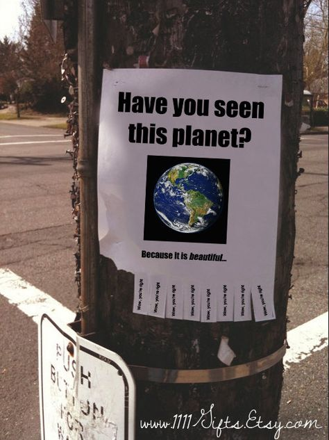 Have You Seen This Planet? Because it is Beautiful / Inspirational Tear-Off Flyer for Street, Home / Sad Quotes, Words Quotes, Random Quotes, Life Quotes, Mystic Messenger Memes, Protest Signs, Lost, Have You Seen, Quote Aesthetic