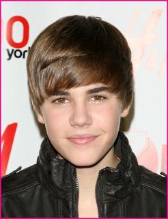 Justin Bieber Hairstyle Young