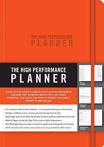 Download [PDF/EPUB] The High Performance Planner [Orange] by
