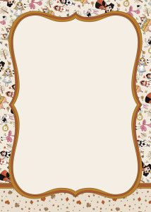FREE Printable Alice In Wonderland Invitation Template Party - Free birthday invitations alice in wonderland