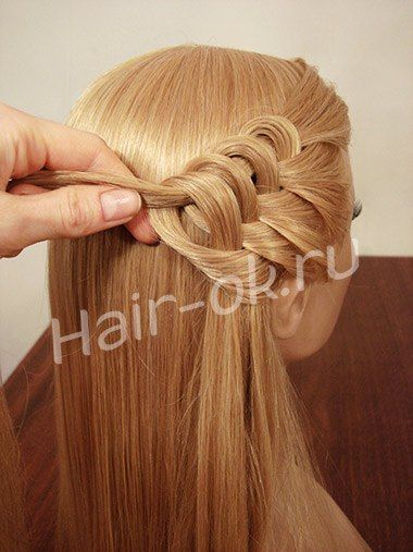 Kalp Sac Orgu Modeli Yapilisi Resimli Peinados Bonitos Peinados