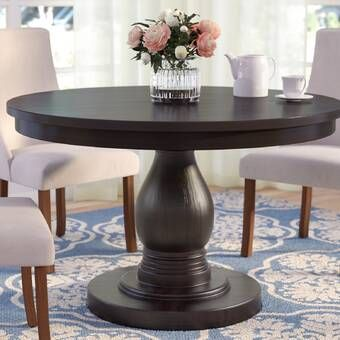 Darya Extendable Solid Wood Dining Table Dining Table Dining
