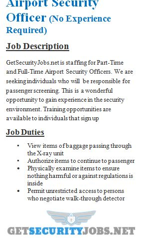 Security Officer Job Description Security Officer Real Job Security