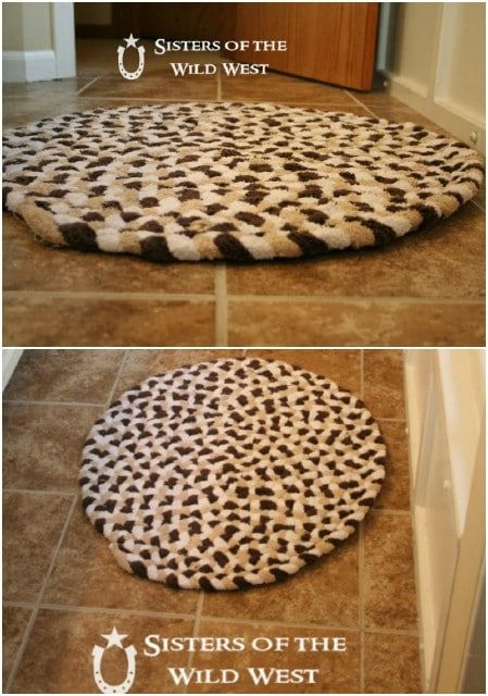 15 Diy Bath Mats That Add Comfort And Style To Your Bathroom Diy Rug Diy Bath Mats Diy Carpet