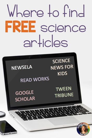Where to Find Free Science Articles