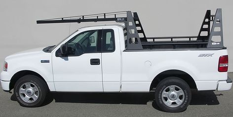 Wildcatter Extra Heavy Duty Truck Rack Side Views Camionetas
