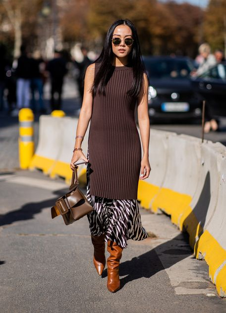 Das sind die 5 besten Herbst Schuhe zum Midi Kleid | Kleider