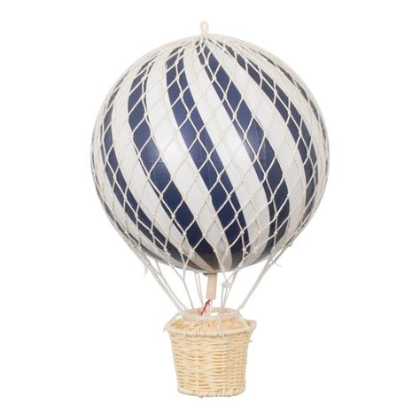 Filibabba Deko Heissluftballon Dunkelblau In 2020 Heissluftballon