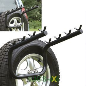 Discovery 2 Bike Rack Spare Wheel Mounted 4 Bicycle Carrier Bike Rack Car Bike Rack Bike