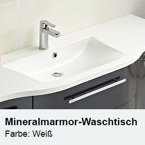 Waschtisch Typ Farbe Mineralmarmor Waschtisch Weiss 1190 Mm