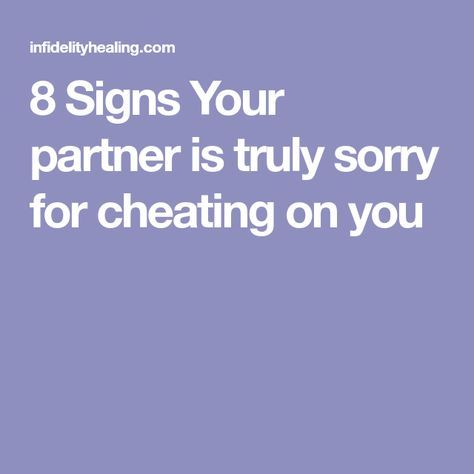 How to Know Your Husband is Remorse From Cheating (Signs That he is