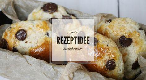 Photo of Rezept: Schnelle Schokobrötchen – Lavendelblog