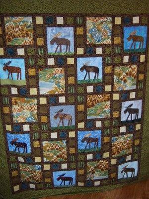 paper pieced moose quilt | Tela, Colchas y Costura : moose quilt - Adamdwight.com