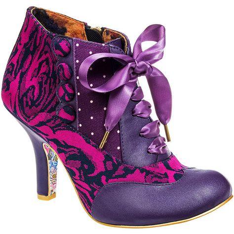 03K Irregular Choice Blair Elfglow UK 5 High Heel Shoes Boots EU 38