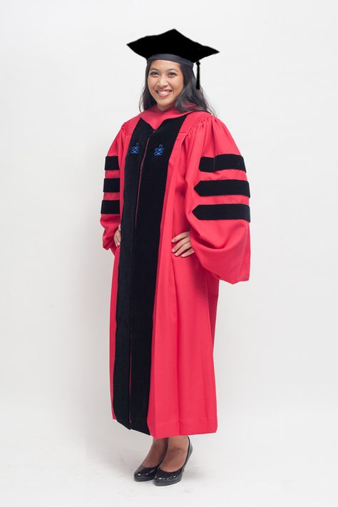 Harvard Doctoral Regalia Set at $399 (PhD Graduation Gown + Hood + Tam). Looking good on your graduation without spending a forture. Order your PhD Regalia today at www.phinishedgown.com