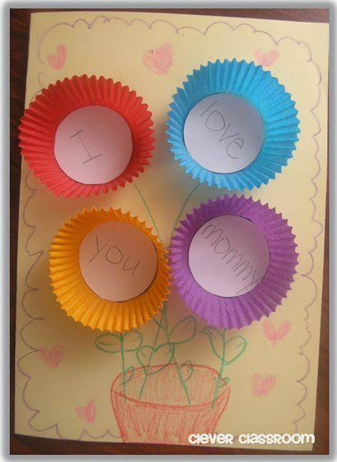 Mother's Day Card Craft Idea