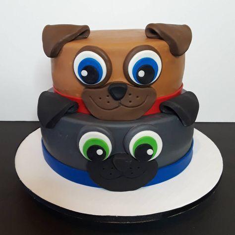 Puppy Dog Pals Birthday Cake Puppy Birthday Disney Birthday