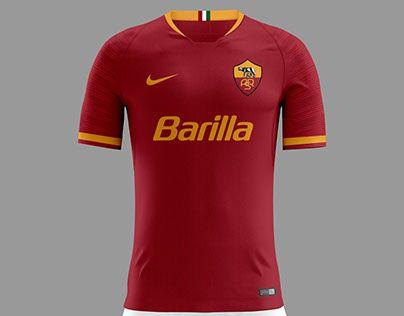 92d8e09a219a37 Pin by Mul Bahtiar on Football Jersey Design | As roma, Soccer ...