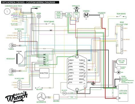 pin by ahmad thekingofstress on kumpulan contoh honda cb diesel engine wiring diagram 1973 cb500 wiring diagram schematic #10
