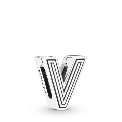 Pandora Jewelry 60 Off Pandora Reflexions Letter V Clip Charm Silicone Sterling Silver Jewel In 2020 Diy Charm Bracelet Pandora Jewelry Box Bead Charm Bracelet