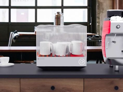 The Tetra Dishwasher Saves You Water And Space Countertop
