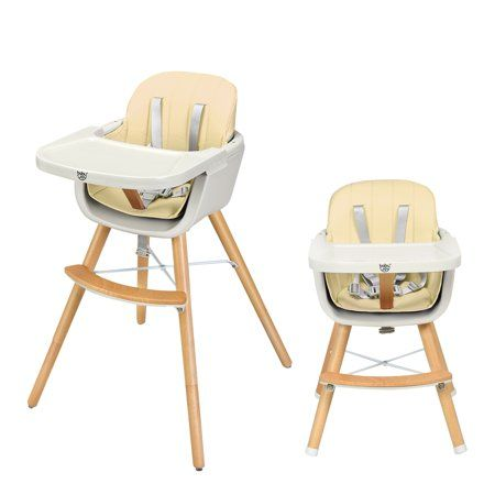 Baby | Wooden high chairs, High chair, Convertible high chair