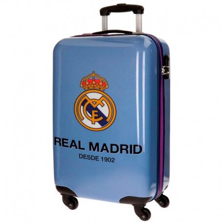 Maleta Viaje Rígida 55 Cm Del Real Madrid Maleta Trolley Maleta Real Madrid