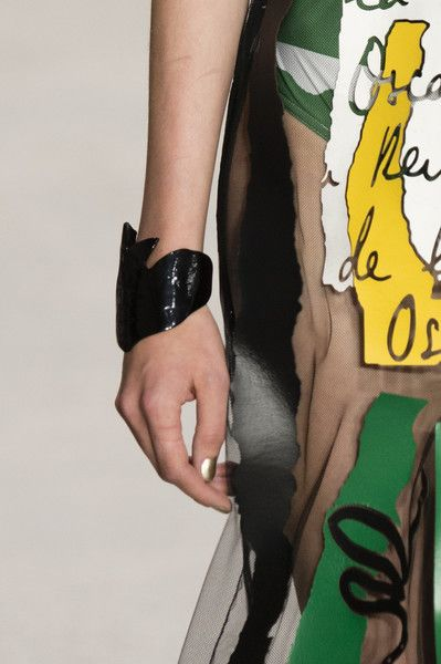Oscar de la Renta at New York Fashion Week Spring 2018 - The Coolest Jewelry Spotted on the New York Runway - Photos