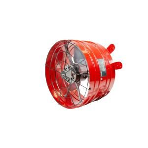 Quietcool 2860 Cfm Red Electric Powered Gable Mount Electric Attic Fan Afg Pro 3 0 The Home Depot In 2020 Attic Fan House Attic Fan Gable Fans