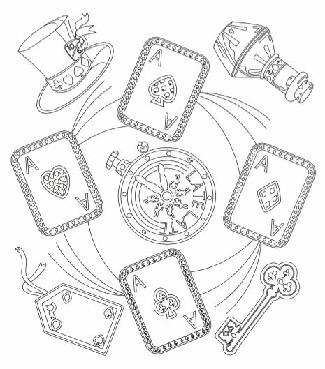 Alice In Wonderland Coloring Page Inspirational June Coloring Challenge The Coloring Book Club Coloring Books Alice In Wonderland Alice In Wonderland Clocks