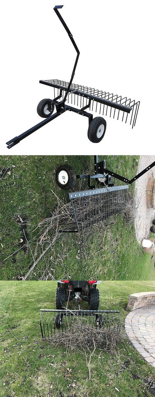 Rakes 118864 Brand New Yard Tuff Ytf 60psr Pine Straw Rake 60