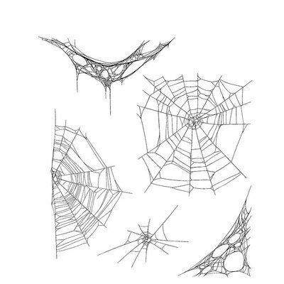Spider web halloween transparent clear stamp for DIY Scrapbooking/Card Making/Kids Christmas Fun Decoration Supplies Spider Web Drawing, Spider Web Tattoo, Spider Art, Spider Webs, Cute Tattoos, Unique Tattoos, Leg Tattoos, Tampons, Tattoo Drawings