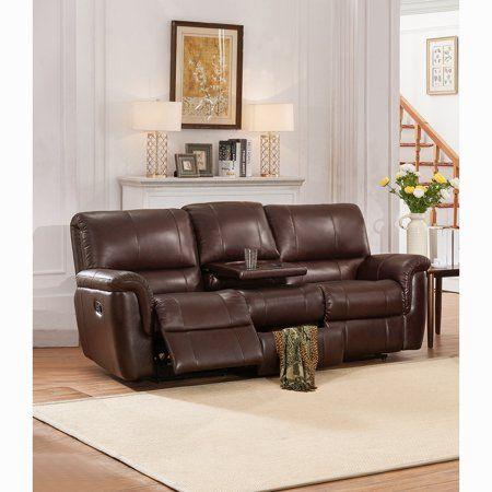 Sofaweb Com Ethan Chestnut Brown Premium Top Grain Leather