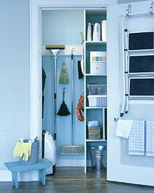 A Neat Broom Closet Will Make You Feel More Optimistic About Cleaning The  House. To