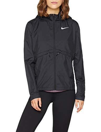 Nike Damen W NK ESSNTL JKT HD SSNL Plus Jacket Black 1X