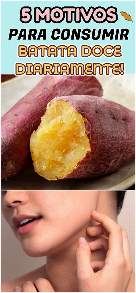 Os 5 Principais Motivos Para Comer Batata Doce Diariamente
